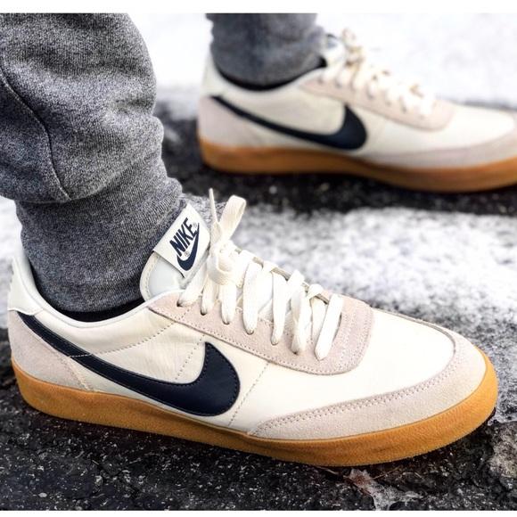 nike gum sole sneakers